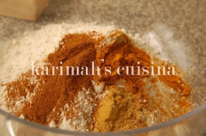 Flour, Sugar  & Spices