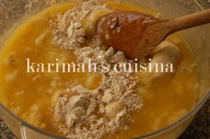 Banana Mix with Flour Mix