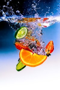 FRUIT WATER by  BLASTING ART