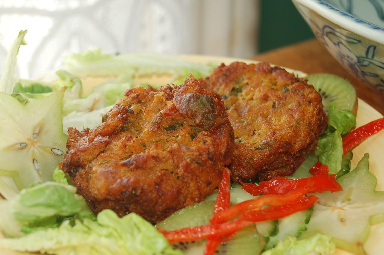 Karimah s jamaican salt fish fritters for Jamaican salt fish