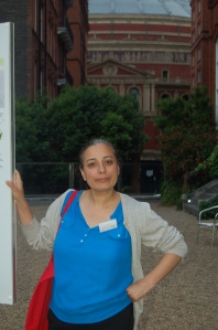 Chandrika Dalpat, manager of Meanwhile Gardens