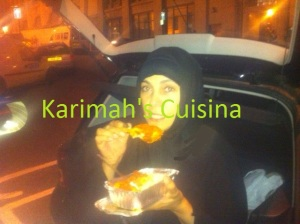 Finally Eating my iftar on the street with homeless, alhmdulilah,thats humbling