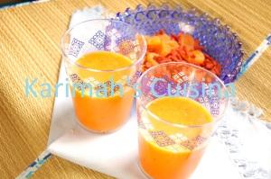 Karimah's Moroccan Peach Juice
