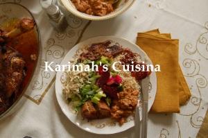 Eid Lamb Feast Plate