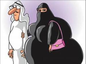Burka Hiding  a Multitude of Sins