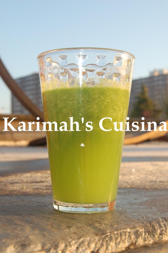 Ice Green Juice