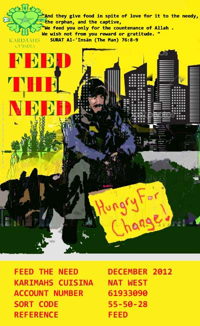 feed the need,more  tex dec12