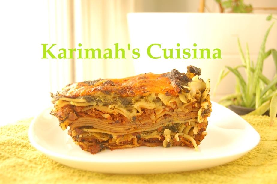Cooked Veggie Lasagna