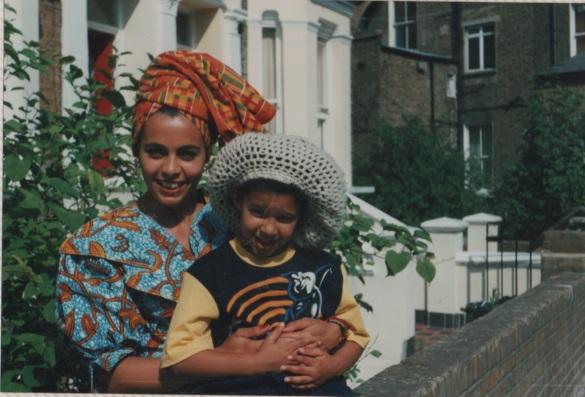 Mama Afrika and Elijah
