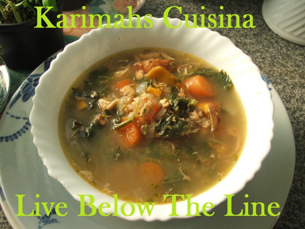 Salmon & Nettle Soup