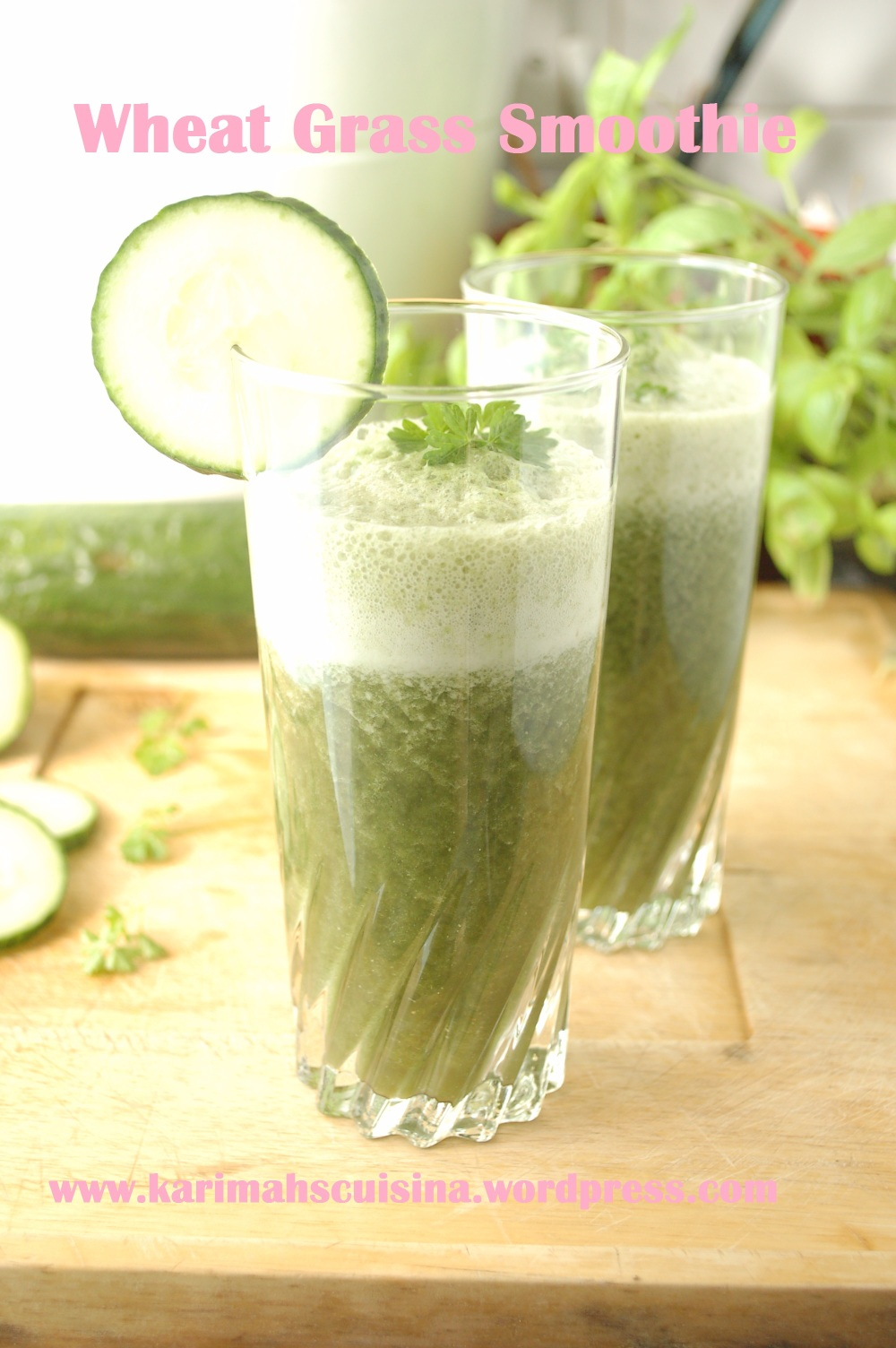 Wheat-grass & Fenugreek Smoothie