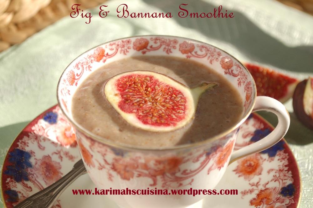 Fig & Banana Smoothie