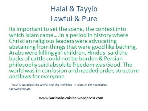 Halal & Tayyib