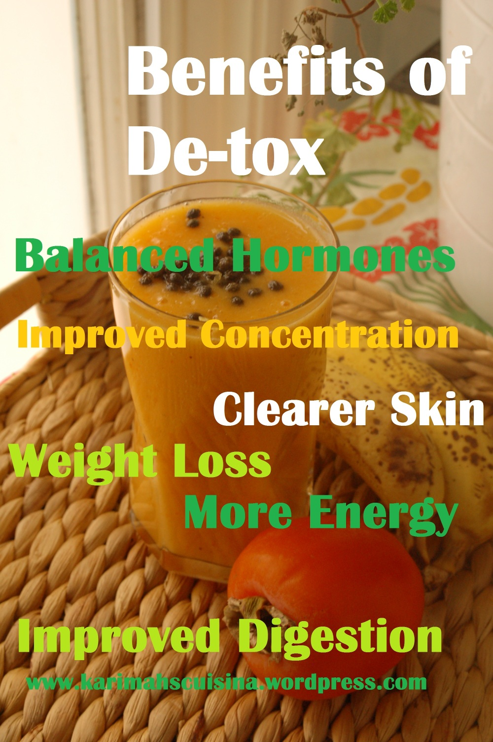 DE-TOX BENEFITS