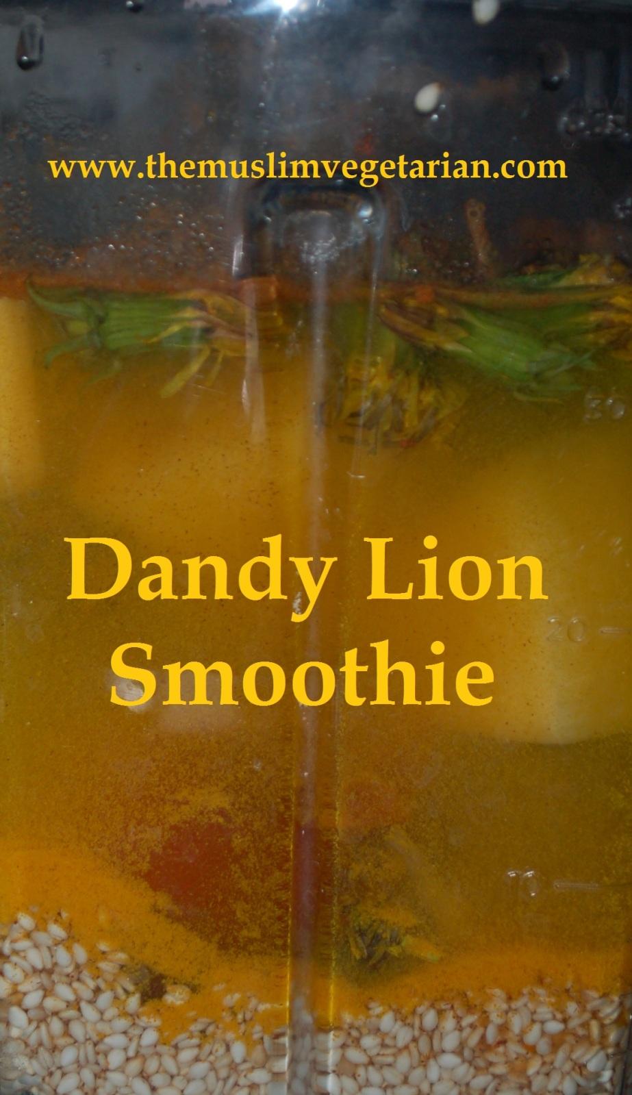 Dandelion Smoothie