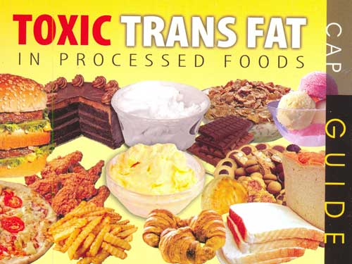 Toxic Trans Fats, Margarine, Pork or beef Lard and Some Soya Products.