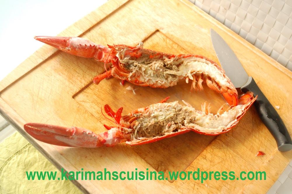 Lobster Cut Minus Stomach & Intestine