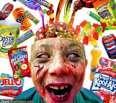 TOO MUCH SUGAR IN SWEETS