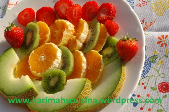 Fruit First...Force Yourself