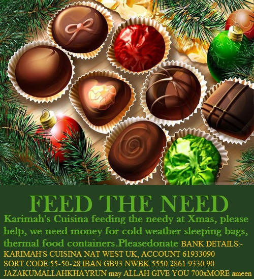 XMAS FEED THE NEED LONDON