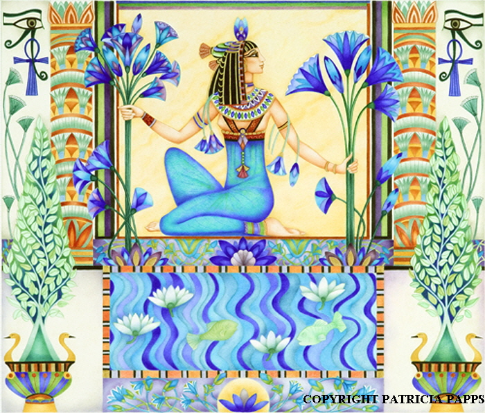 Lotus Since Ancient Egyptians Times
