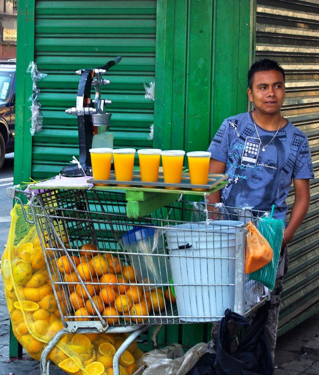 Fresh Orange Juice..is not cheap :)