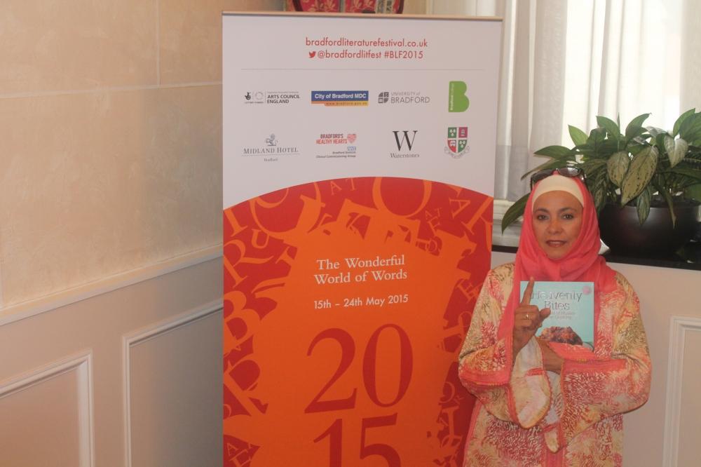Bradford Literature Festival Featured Author Speaker