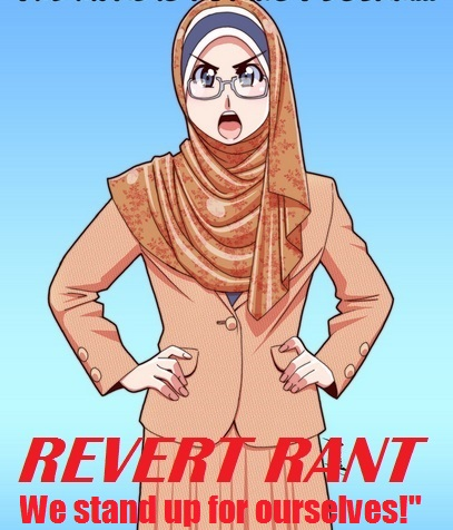 REVERT RANT stand up