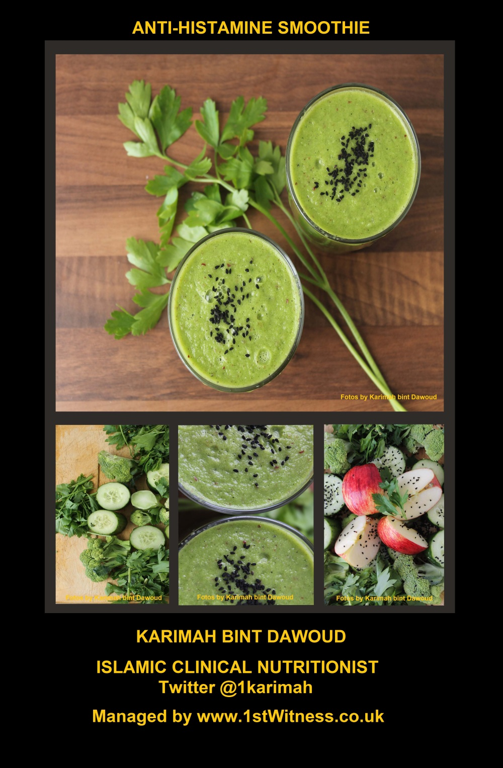 Anti-Histamine Smoothie -The Green One
