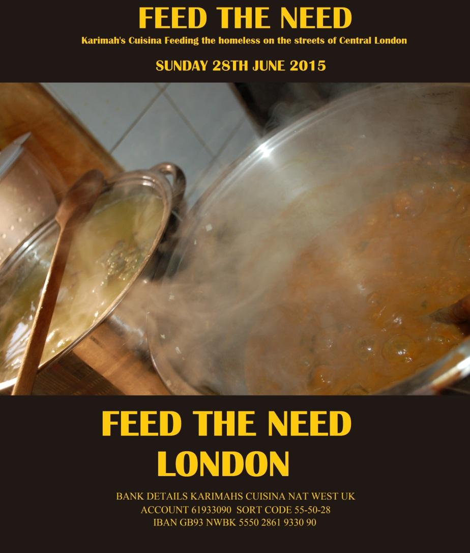 FEED THE NEED LONDON RAMADAN 2015