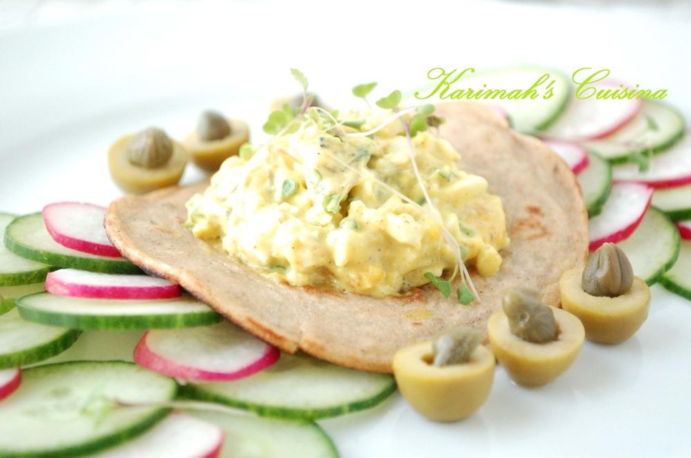 blini egg mayo tex