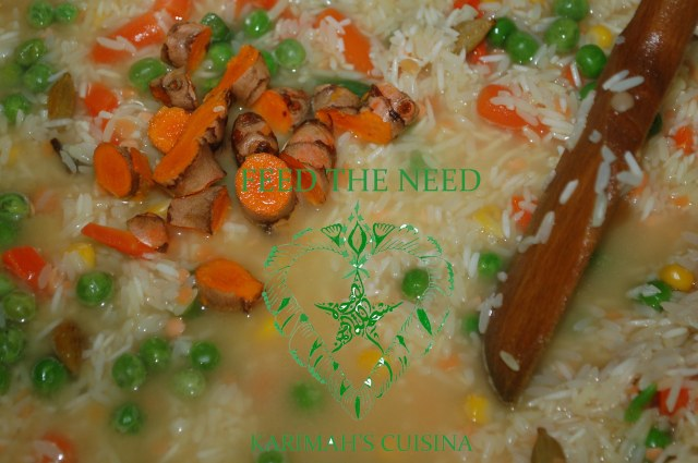 feed the need rice