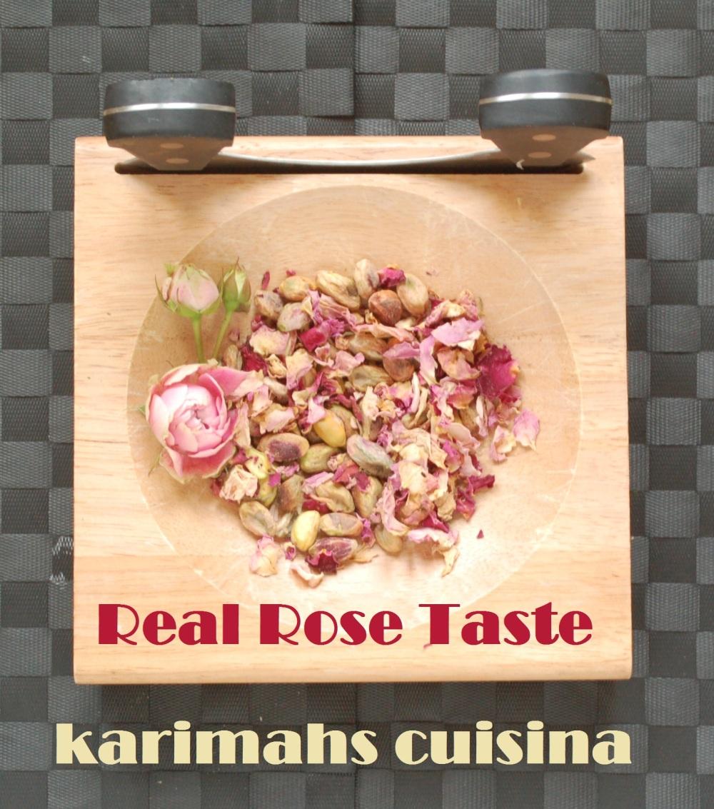 rose taste