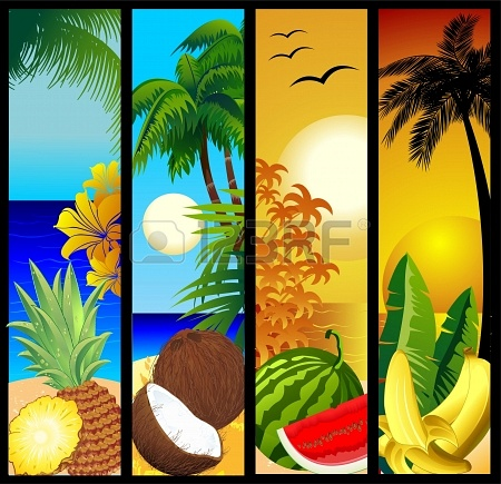 The totally tropical taste of Allah's Creation...all naturelle :)