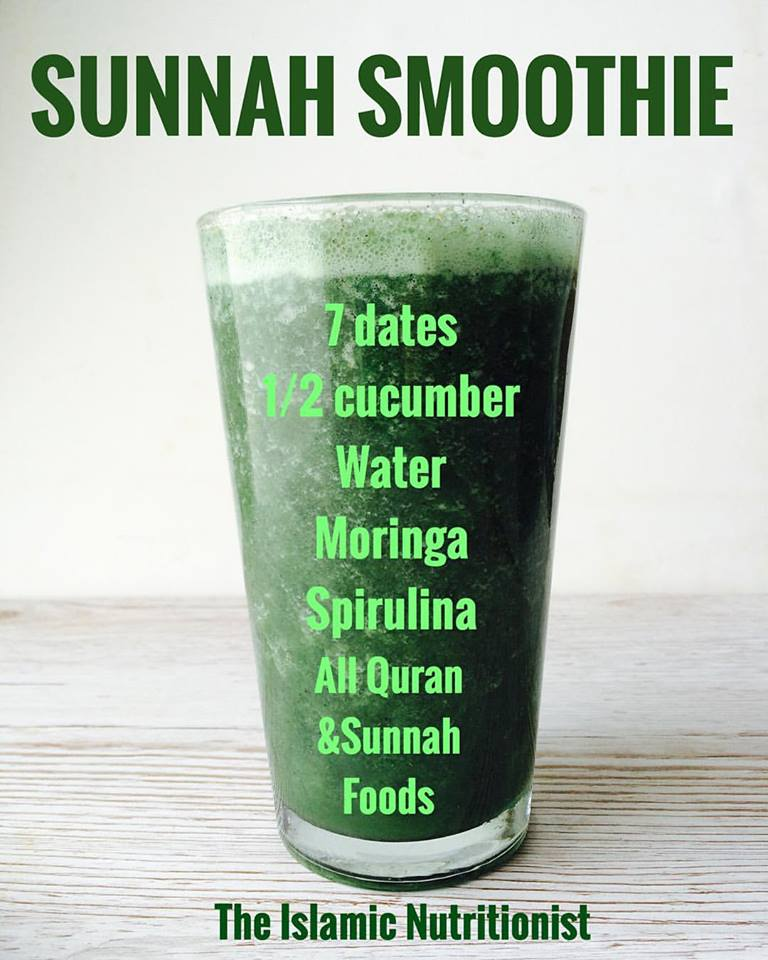 green smoothie prophetic