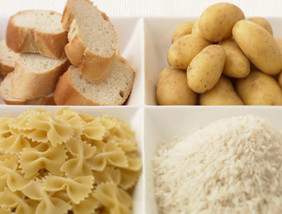 white carbohydrates