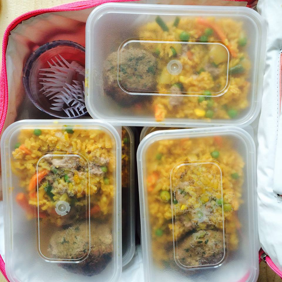 feed the need autumn 2017 kofta rice and mixed veg