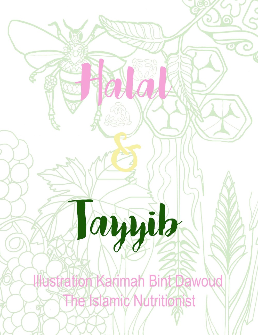 halal and tayyib small text