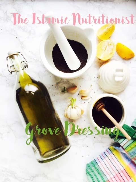 hhh garlic grove dressing text