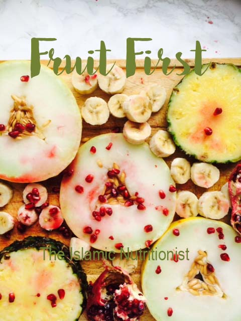 fruit first