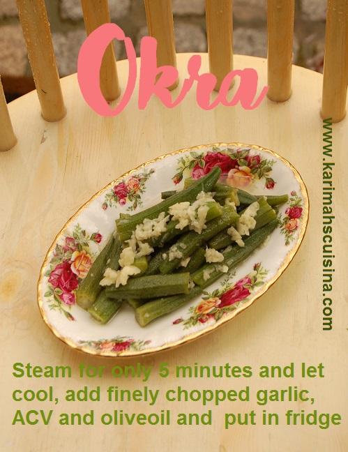 okra salad