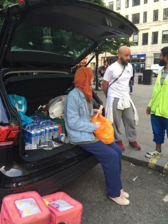 feed the need ramadan 2018 ibrahim, wife, rudolph volunteeers