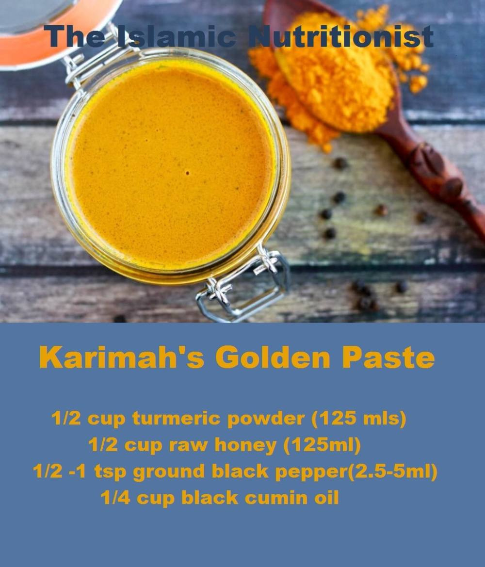 tumeric golden paste tex