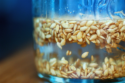 soak flax seeds