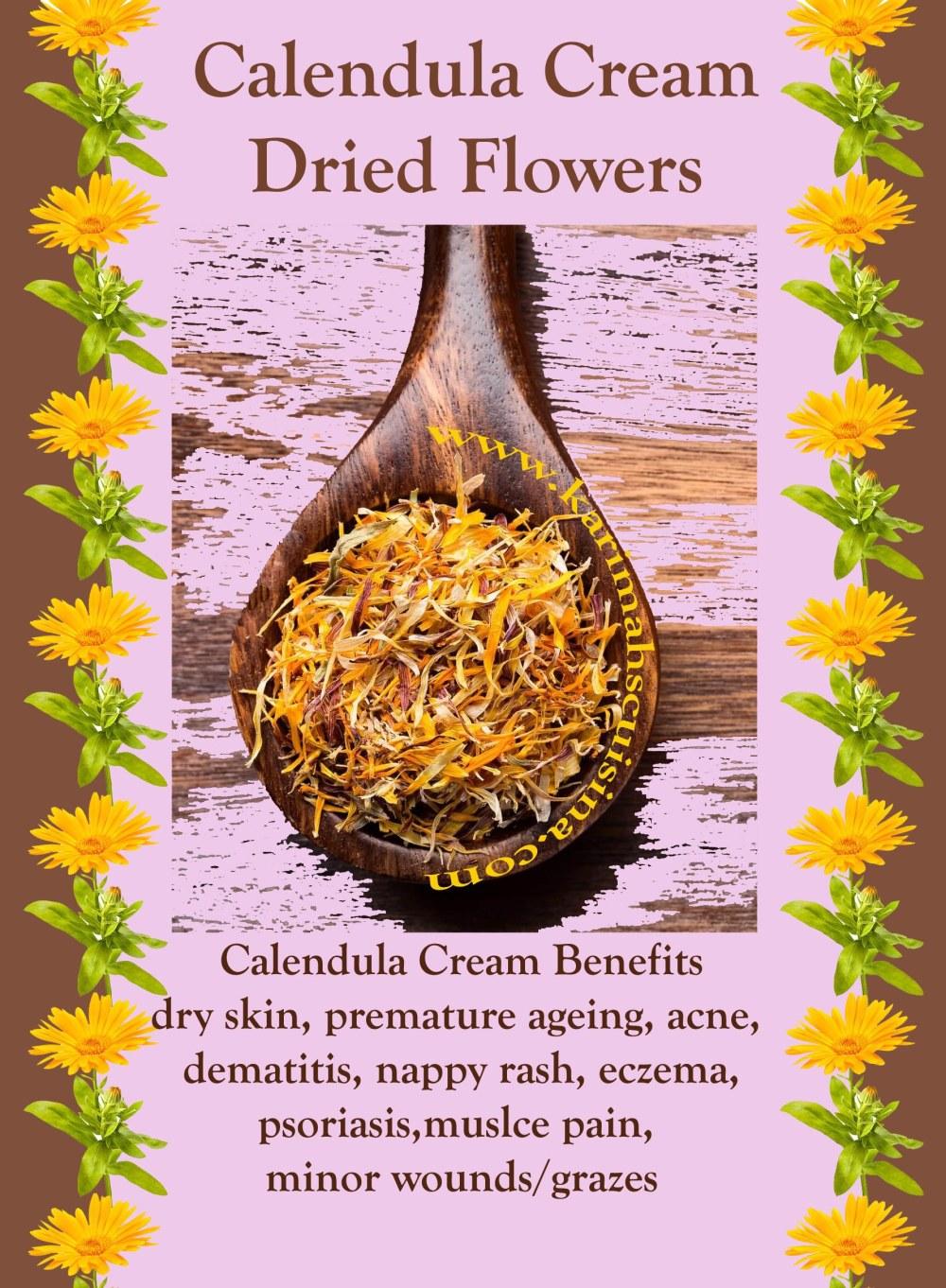 kc recipe calendula skin benefits