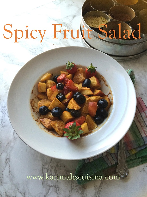 spicey fruit salad text small
