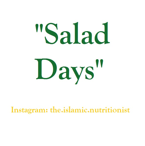 salad days text