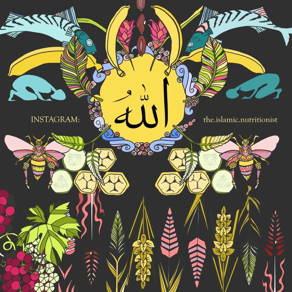 a colouring book allah collage colour sign