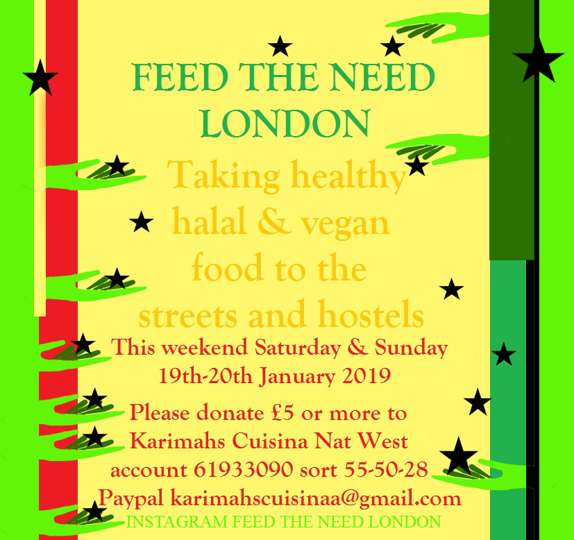 feed the need january 2019 poster