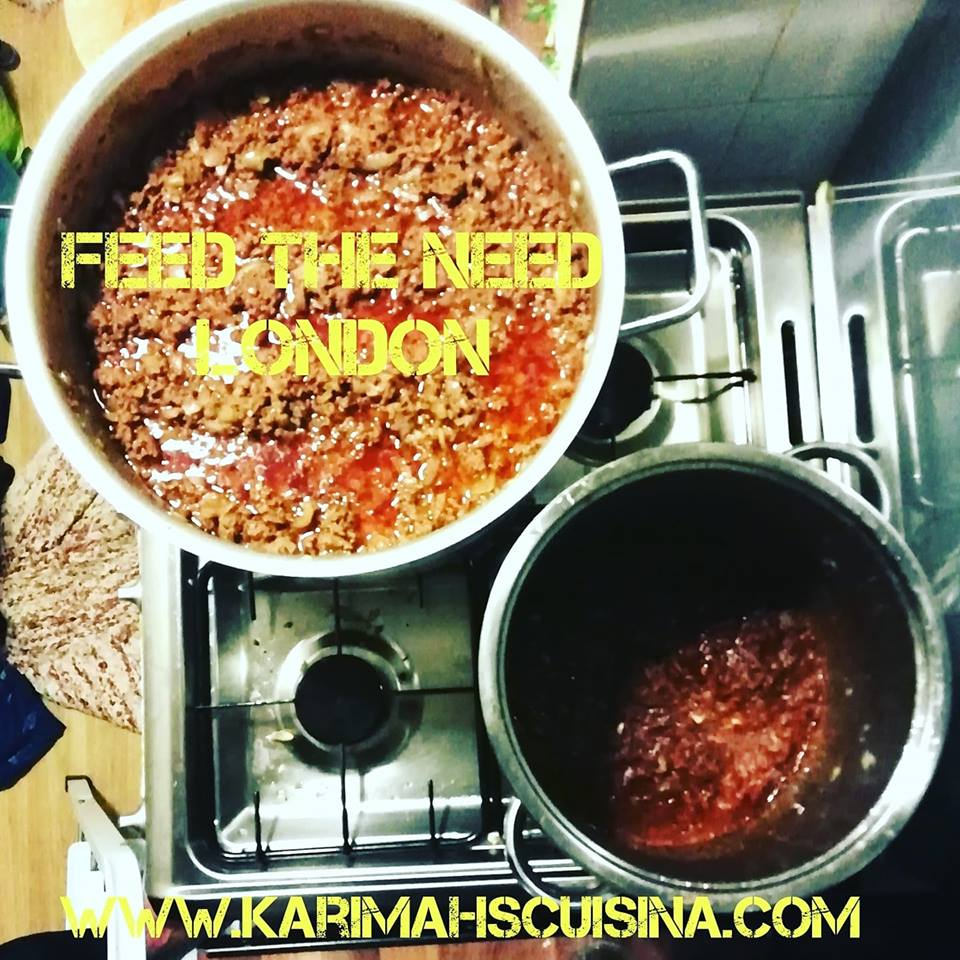 FEED THE NEED LASAGNA MARCH 2019